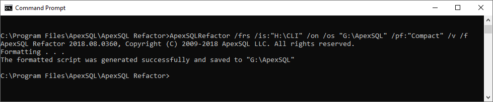 apex sql refactor free download